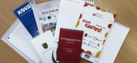Печать блокнотов и журналов в типографии «Простор Оптима»
