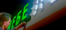 Особенности изготовления объемных букв с подсветкой